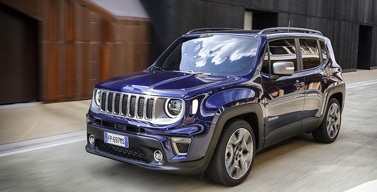 Fiat Chrysler Automobiles : La Jeep Renegade 2019 lancée au Maroc
