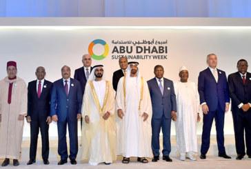 Semaine de la durabilité d'Abu Dhabi : SAR le Prince  Moulay Rachid représente SM Mohammed VI