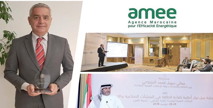 Efficacité énergétique : Les efforts de l'AMEE reconnus  à l'échelle mondiale