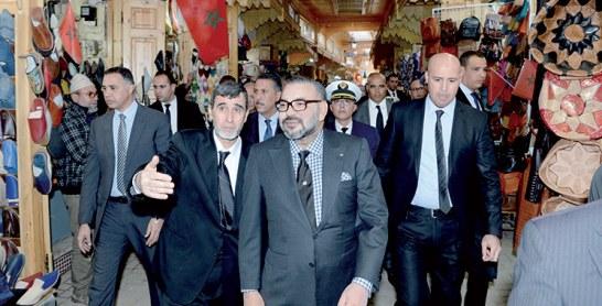 Médina de Rabat : Visite royale à plusieurs projets