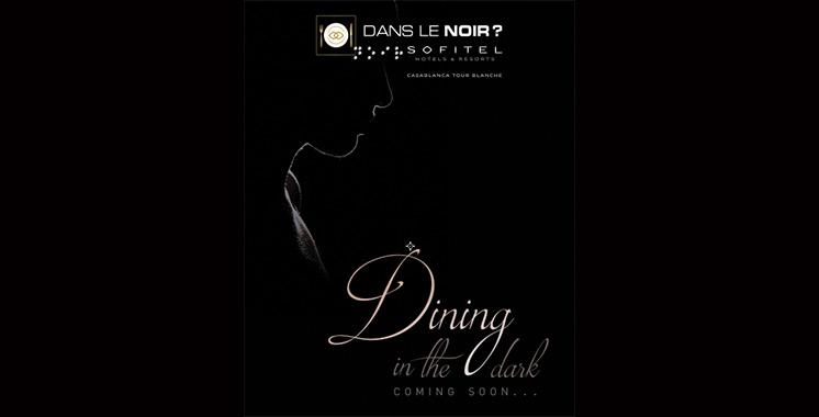 Sofitel lance Diner dans le Noir, un nouveau concept gastronomique