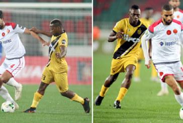 Coupes africaines : Le Wydad domine à Rabat, le Raja arrache le nul à Windhoek