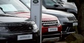 Jaguar Land Rover annonce  la suppression de 4.500 emplois