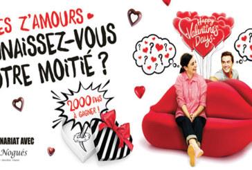 A l'occasion de la Saint-Valentin, Anfaplace Shopping Center met au défi les Z'amoureux !