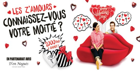 A l'occasion de la Saint-Valentin, Anfaplace Shopping Center met au défi les Z'amoureux !