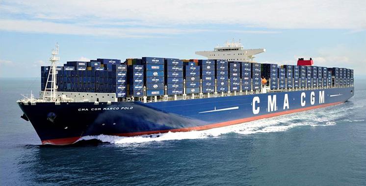 Trafic maritime : CMA CGM relancera la ligne au départ de Dakhla en juin prochain