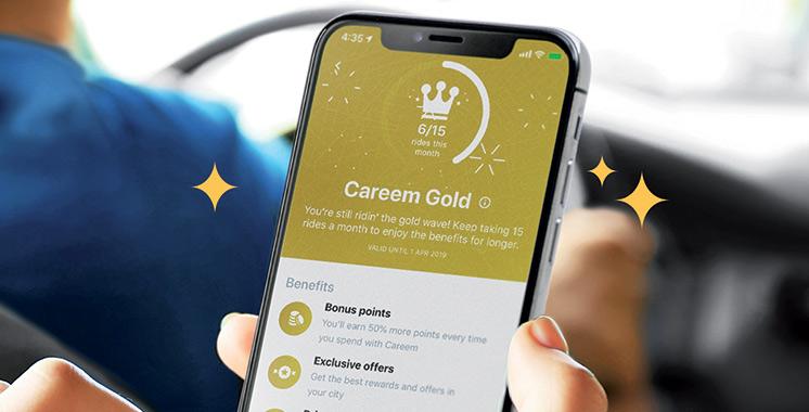 Deux voyages gratuits au minimum à gagner par mois : Careem lance le système de cumul de points