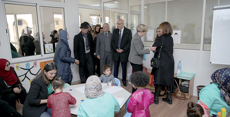 Casablanca : Inauguration d'un centre préscolaire «Insat»  pour enfants implantés cochléaires