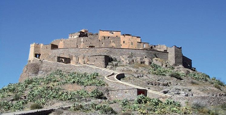 Coup de projecteur sur les canons  de la kasbah d'Agadir Oufella