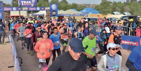 2è édition de l'Éco-Trail de Lalla Takerkoust : Plus de 600 coureurs et marcheurs sous  les couleurs de l'écologiePlus de 600 coureurs et marcheurs sous les couleurs de l'écologie