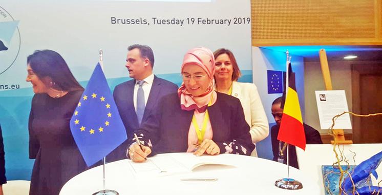 Lutte contre le changement climatique et préservation des océans : El Ouafi signe au nom du Maroc la Déclaration de Bruxelles