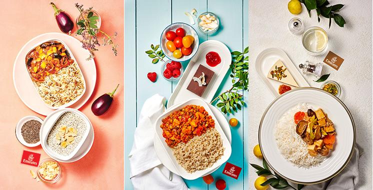 Emirates: Plus de 20.000 repas à base  de plantes servis pendant le «Veganuary»