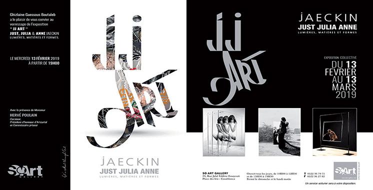 Exposition «JJ ART» à So Art Gallery