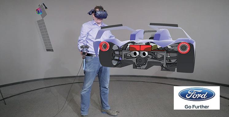 Gravity Sketch : Le nouveau logiciel de Ford pour  perfectionner la conception de ses véhicules