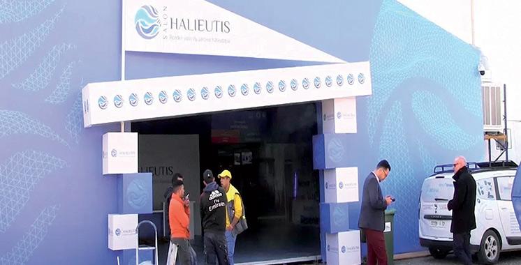 Halieutis 2019 :  284 exposants dont  133 étrangers
