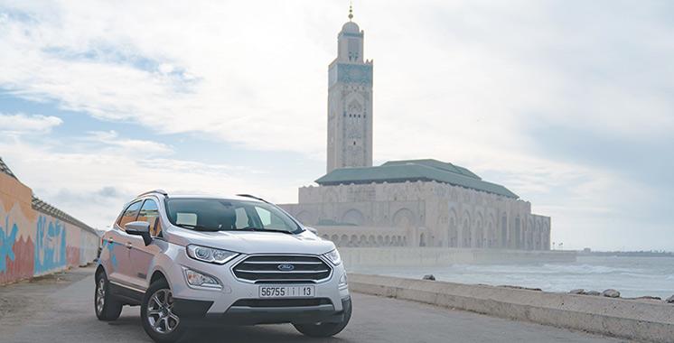 SUV compact et élégant : L'EcoSport de Ford, un véhicule pour  tous les jours