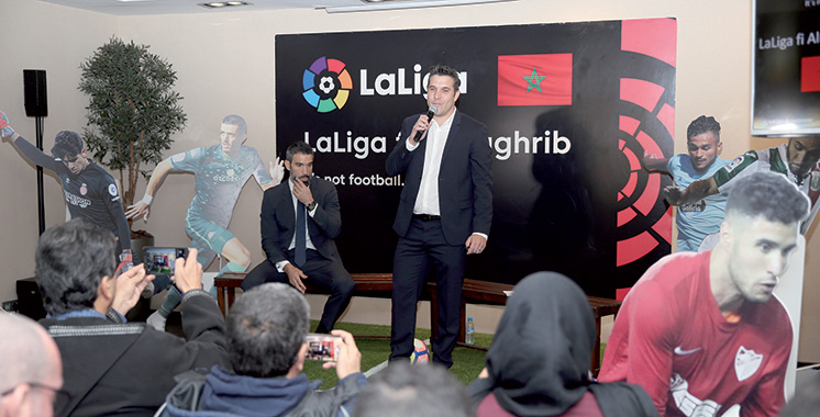 Espagne : Des représentants de «La Liga» en campagne promotionnelle au Maroc