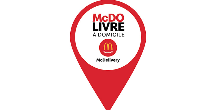 McDelivery : Faites-vous livrer vos menus McDo jusqu'à chez vous