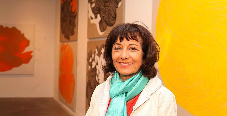 Exposition rétrospective consacrée à Najia Mehadji  aux Villas des arts de Casablanca et Rabat