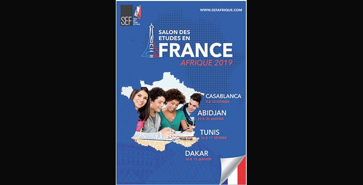 9ème édition  du SEF : La référence pour les études  en France