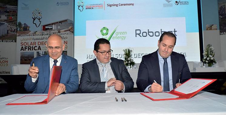 «Solar Decathlon Africa»: Des accords pour la mise en œuvre de projets innovants