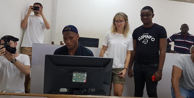 Supinfo Maroc numérise le lycée Sainte Marie de Cocody en Côte d'Ivoire