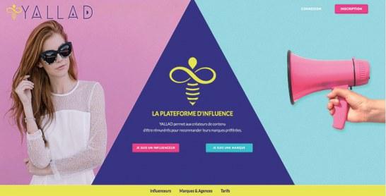 Yallad.com, une plate-forme marocaine  de mise en relation marques-influenceurs