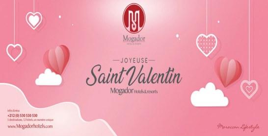La Saint Valentin fêtée en grande pompe aux Mogador hotels
