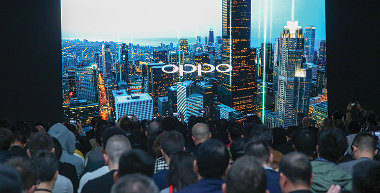 Oppo dévoile ses innovations  à Barcelone
