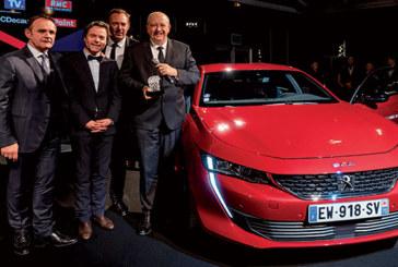 Festival automobile international : La nouvelle Peugeot 508 et la Peugeot e-legend concept primées