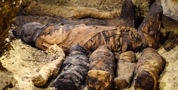Découverte insolite en Egypte : des momies de plus de 2.000 ans dévoilées