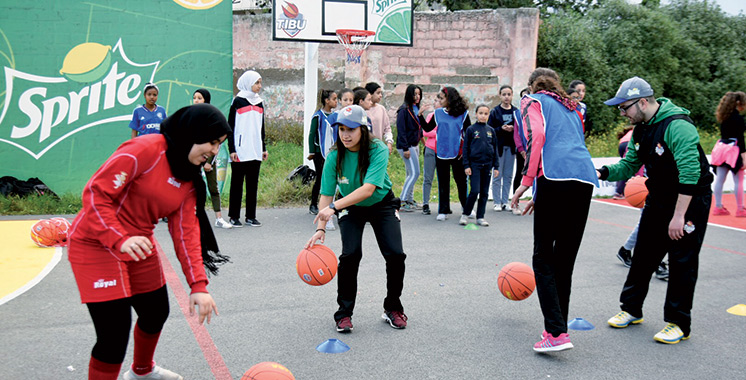 Basket-ball : Tibu Maroc organise une caravane de grande envergure