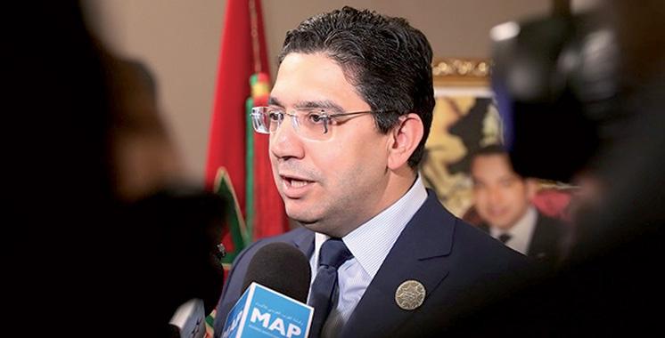 Prétendue infiltration de téléphones: Nasser Bourita fustige les ennemis du Maroc