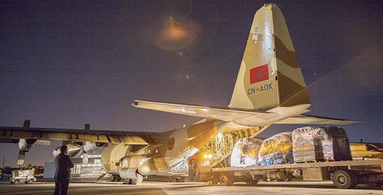 Sur Hautes instructions royales : Envoi d'une aide humanitaire d'urgence aux victimes du cyclone Idai au Mozambique