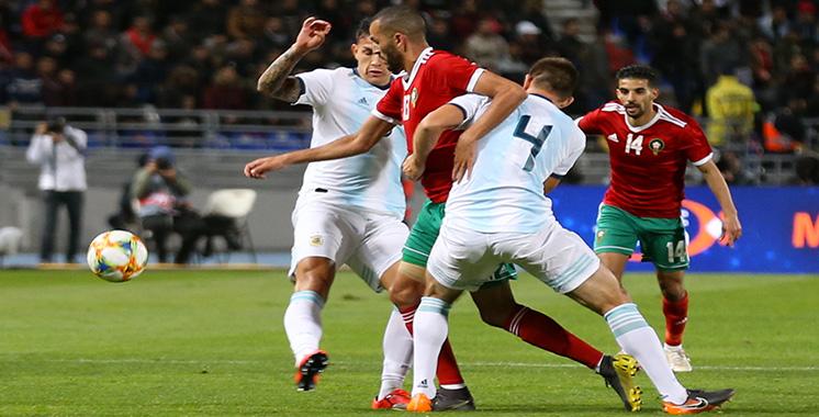 Amical contre l'Argentine : Le Maroc n'a pas brisé le signe indien