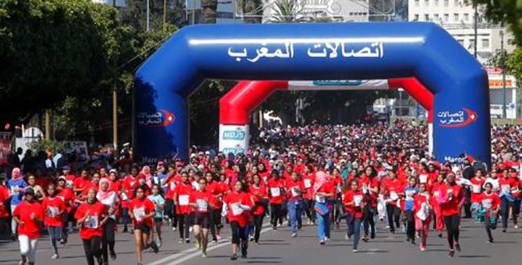 Fès abrite dimanche prochain la 3ème course féminine sur route