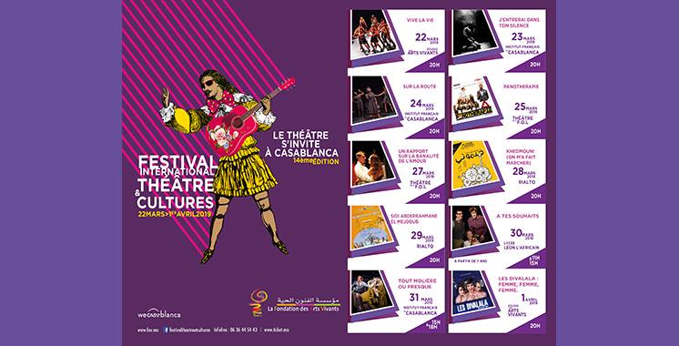 Festival international théâtre et cultures : «Vive la vie» de la compagnie Interface ouvre le bal
