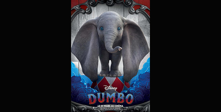«Dumbo» de Disney à l'Imax  Morocco Mall dès le 27 mars