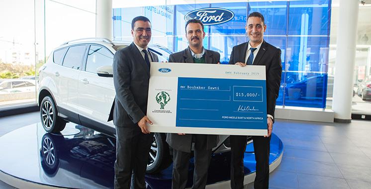 Ford offre 15.000 dollars américains à un projet marocain