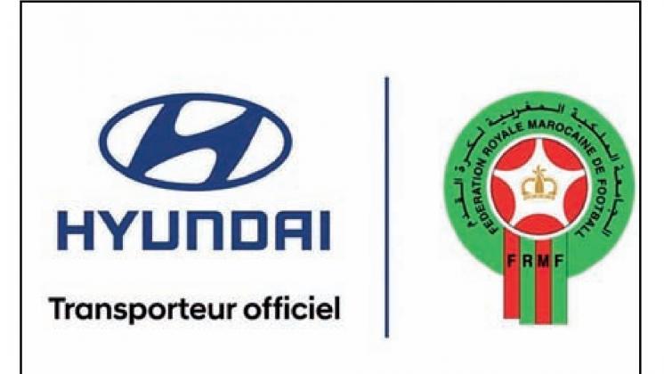Hyundai transporteur officiel des Lions de l'Atlas