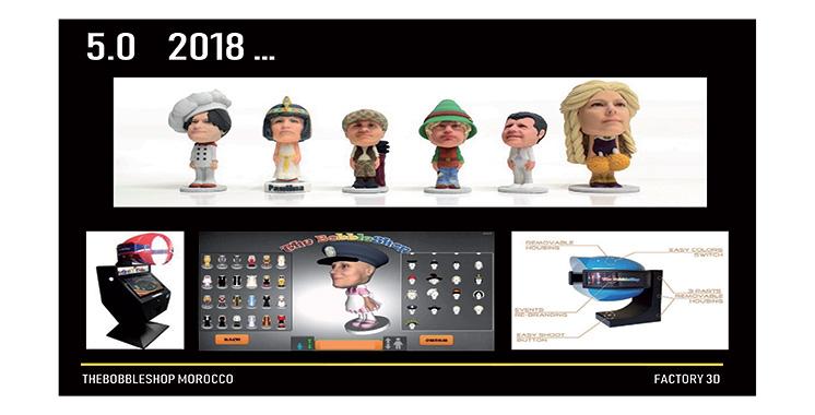 Impression de figurines 3D Thebobbleshop : Digiteyezer et Factory 3D signent un accord de distribution au Maroc