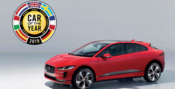 Véhicule 100% électrique : La Jaguar I-Pace élue voiture européenne  de l'année
