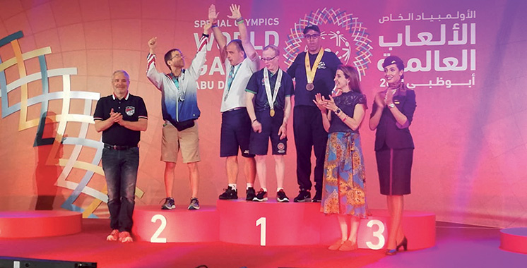 Jeux mondiaux d'été Special Olympics à Abu Dhabi : Le Maroc sur le podium avec 16 médailles dont 4 en or