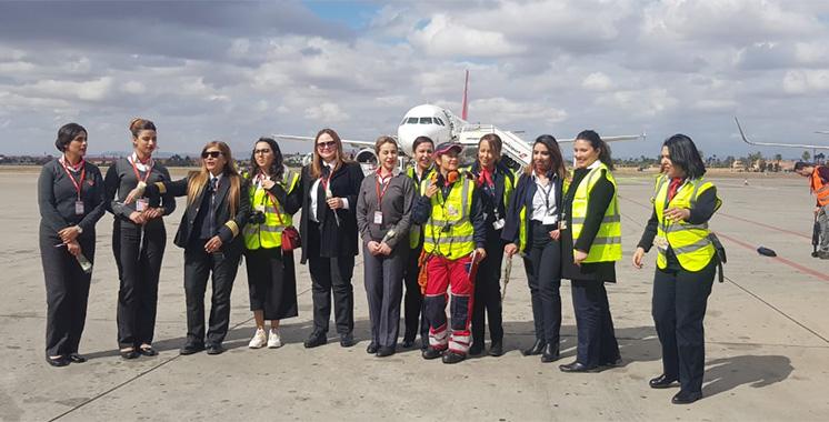 Journée internationale de la femme : Les collaboratrices de Swissport Maroc démontrent leur savoir-faire !