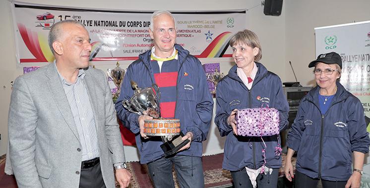 Rallye national du corps diplomatique : L'ambassadeur allemand et son épouse remportent la 15ème édition