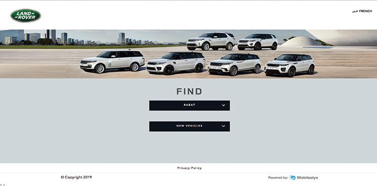 Pour accompagner la révolution technologique et numérique : Jaguar Land Rover lance sa plate-forme de commerce électronique au Maroc