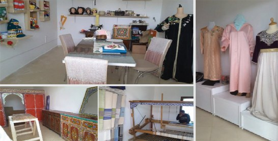 Le complexe intégré d'artisanat d'Asilah accueille les artisans bénéficiaires