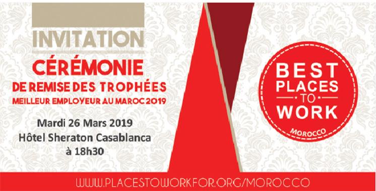 Les trophées des «meilleurs employeurs au Maroc 2019» de retour