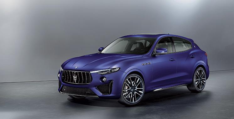 89ème édition du Geneva international motor show : Maserati met son nouveau SUV Levante à l'honneur