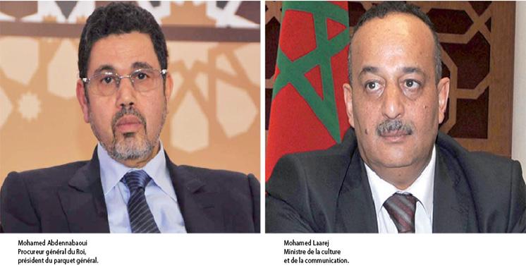 Presse électronique : Laarej se réunit  avec Abdennabaoui